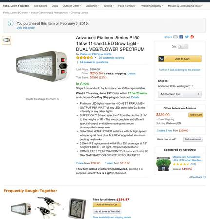LED GROW LIGHT SYSTEM