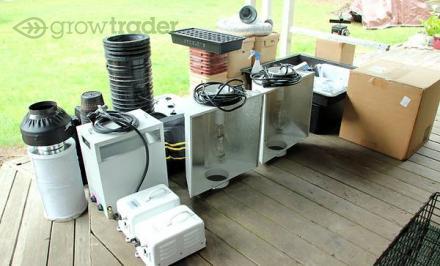 Grow Room Setup Full Hydroponic OBO & CO2 Generator | Grow Trader